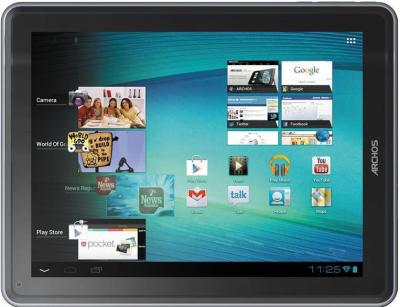Планшет Archos 97 carbon 16GB Tablet - фронтальный вид