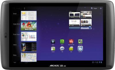 Планшет Archos 101 G9 8GB Classic Tablet - фронтальный вид