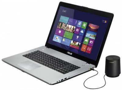 Ноутбук Asus N76VJ-T4046H - общий вид