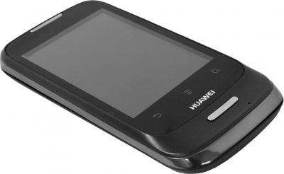 Смартфон Huawei Ascend Y101 (U8186) Black - общий вид