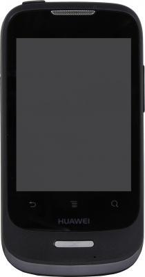 Смартфон Huawei Ascend Y101 (U8186) Black - вид спереди