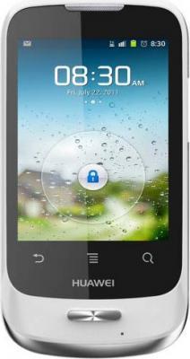 Смартфон Huawei Ascend Y101 (U8186) White - общий вид
