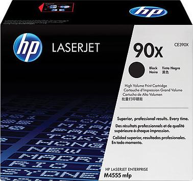 Комплект тонер-картриджей HP 90X (CE390XD) Black - фронтальный вид