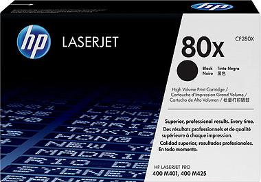 Комплект тонер-картриджей HP 80X (CF280XD) - общий вид