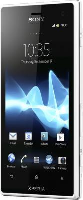 Смартфон Sony Xperia Acro S (LT26w) White - общий вид