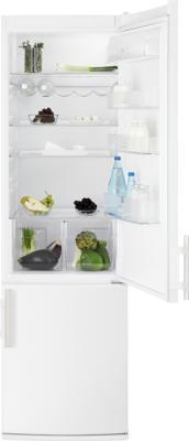 Холодильник с морозильником Electrolux EN4000AOW - общий вид
