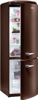 Холодильник с морозильником Gorenje RKV60359OCH - общий вид
