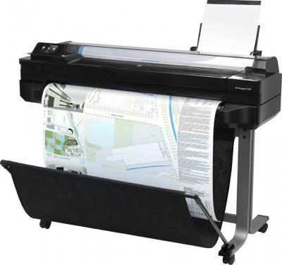 Плоттер HP T520 (CQ893A) - общий вид