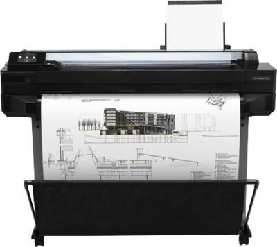 Плоттер HP T520 (CQ893A) - фронтальный вид