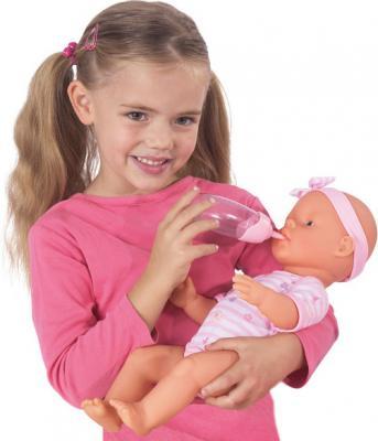 Кукла-младенец Simba Девочка (с аксессуарами) 10 5039005 - ребенок с куклой