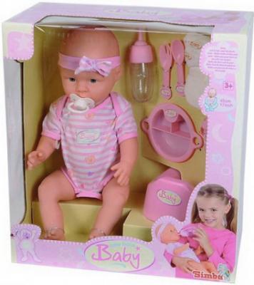 Кукла-младенец Simba Девочка (с аксессуарами) 10 5039005 - упаковка