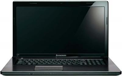 Ноутбук Lenovo G780 (59359060) - фронтальный вид