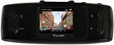 Автомобильный видеорегистратор IconBIT DVR FHD LE - вид на дисплей