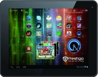 Планшет Prestigio MultiPad 9.7 Ultra (PMP5197D) 16GB Black-Gray - фронтальный вид