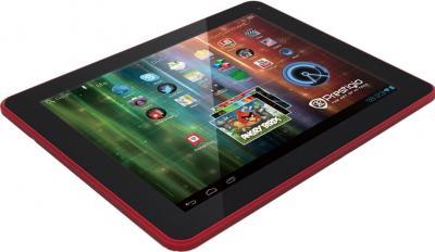 Планшет Prestigio MultiPad 9.7 Ultra (PMP5197D) 16GB Black-Red - общий вид