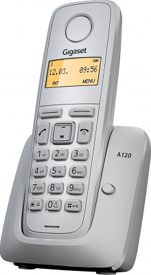 Беспроводной телефон Gigaset A120 White - общий вид
