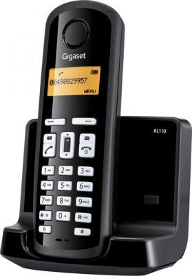 Телефон DECT Gigaset AL110 Black - общий вид