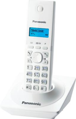 Беспроводной телефон Panasonic KX-TG1711 (белый) - общий вид