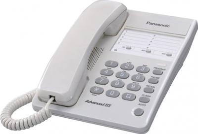 Проводной телефон Panasonic KX-TS2361 White (KX-TS2361RUW) - общий вид