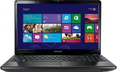 Ноутбук Samsung 350E5С (NP-350E5C-S06RU) - фронтальный вид