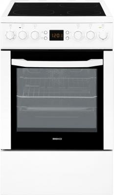 Кухонная плита Beko CSE 57300 GW - общий вид