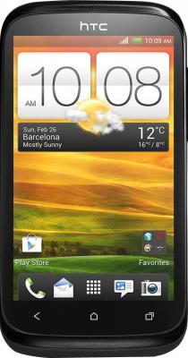 Смартфон HTC Desire X Black - общий вид