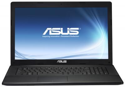 Ноутбук Asus X75VD (90NCOC218W12216013AU) - фронтальный вид