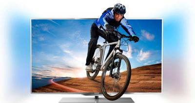 Телевизор Philips 55PFL7007T/12 - подсветка Ambilight