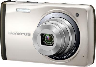 Компактный фотоаппарат Olympus VH-410 (серебристый) - общий вид