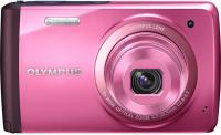 Компактный фотоаппарат Olympus VH-410 (розовый) -