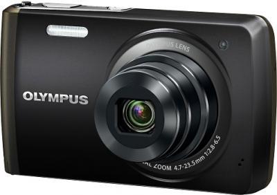 Компактный фотоаппарат Olympus VH-410 (черный) - общий вид