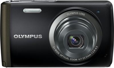 Компактный фотоаппарат Olympus VH-410 (черный) - вид спереди