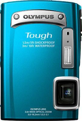 Компактный фотоаппарат Olympus TG-320 Blue - общий вид