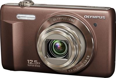Компактный фотоаппарат Olympus VR-360 Brown - общий вид