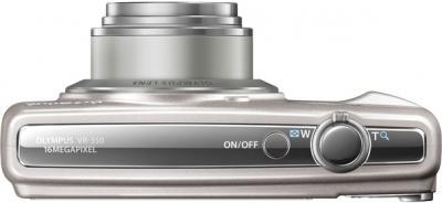 Компактный фотоаппарат Olympus VR-350 Silver - общий вид