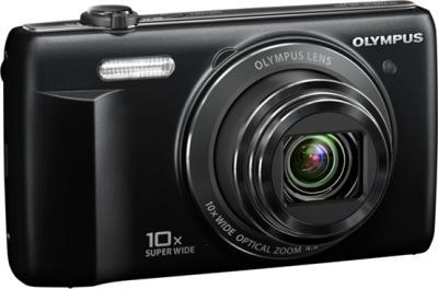 Компактный фотоаппарат Olympus VR-350 Black - общий вид