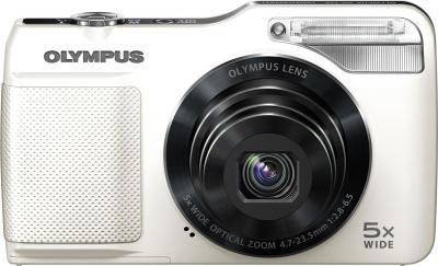 Компактный фотоаппарат Olympus VG-170 White - вид спереди