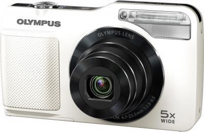Компактный фотоаппарат Olympus VG-170 White - общий вид