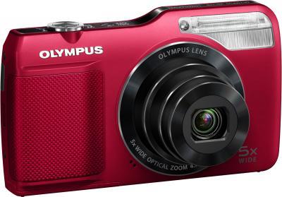 Компактный фотоаппарат Olympus VG-170 Red - общий вид