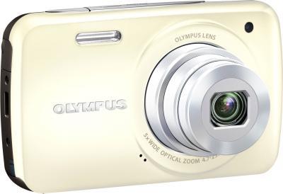 Компактный фотоаппарат Olympus VH-210 White - общий вид