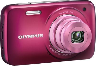 Компактный фотоаппарат Olympus VH-210 Red - общий вид
