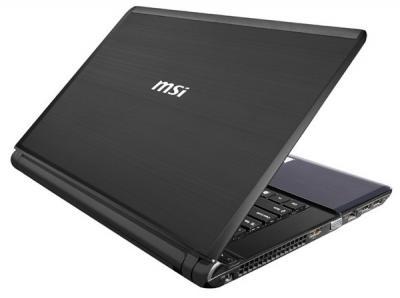 Ноутбук MSI X460DX-432XBY - общий вид