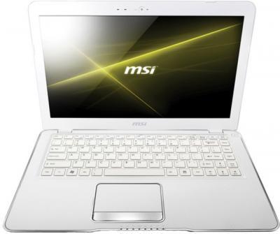 Ноутбук MSI X370-480XBY - фронтальный вид