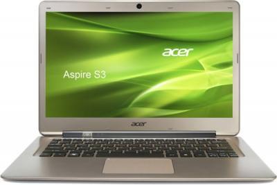 Ноутбук Acer S3-391-33214G52ADD (NX.M1FEU.008) - фронтальный вид