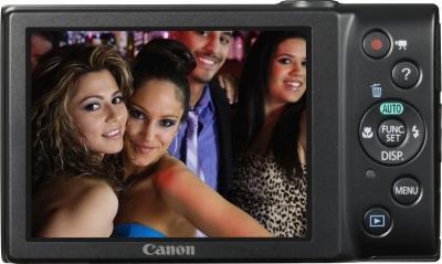 Компактный фотоаппарат Canon PowerShot A4050 (Black) - общий вид