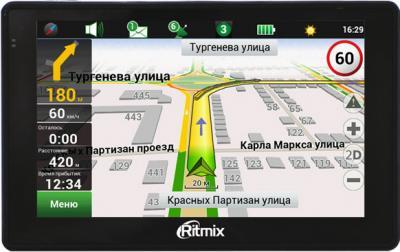 GPS навигатор Ritmix RGP-565 - вид спереди