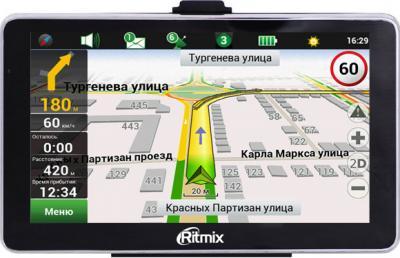 GPS навигатор Ritmix RGP-665 - вид спереди