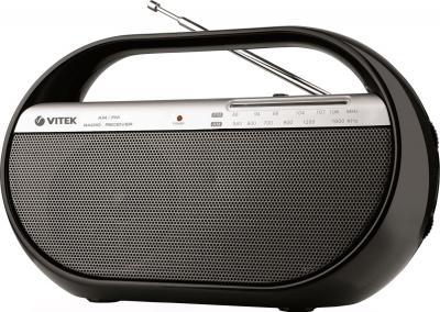 Радиоприемник Vitek VT-3584 Black - общий вид