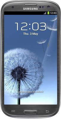 Смартфон Samsung Galaxy S III / I9300 (серый) - общий вид