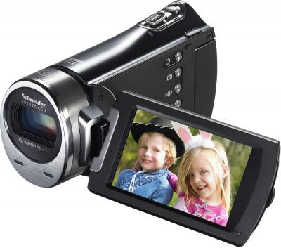 Видеокамера Samsung HMX-H400BP - общий вид (поворот дисплея)